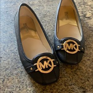 Michael Kors womens navy shoes size 7. Never worn.